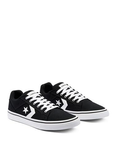 Converse Converse Siyah - Beyaz Lifestyle Ayakkabı Siyah